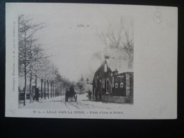 Carte Lille Sous La Neige   LILLE- - Lille