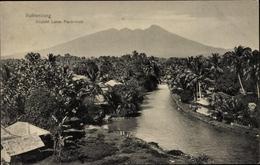 Cp Buitenzorg Bogor Indonesien, Gezicht Lands Plantentuin, Flusspartie, Berg - Indonésie