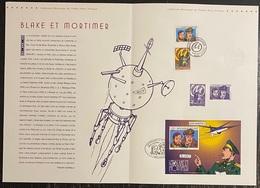 France - Document Philatélique - Premier Jour - FDC - YT Nº 3669 Et 3670 - Blake Et Mortimer - 2004 - 2010-....