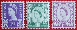 1st Value QE II Scotland (Mi 102-104) 2008 POSTFRIS MNH ** ENGLAND GRANDE-BRETAGNE GB GREAT BRITAIN - Regionali