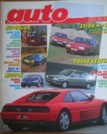 AUTO - N.6 - GIUGNO 1989 - ANNO V - OPEL VECTRA 4X4/CITROEN BX 4X4 - MAZDA 121 - LANCIA DEDRA 2.0 - FORD FIESTA 1,4 GHIA - Moteurs