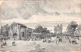 Stazione Al Parco Bongi ROCCO & C. MILANO -Esposizione Di Milano 1906 - Milano (Milan)