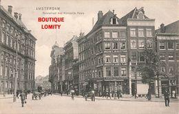 Pays Bas Amsterdam Paleisstraat Met Koninklijk Paleis + Timbre Cachet 1907 - Amsterdam