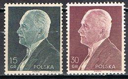 POLOGNE 397 / 398** - 1919-1939 République