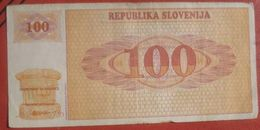 100 (Tolarjev) 1990 (WPM 6) - Slowenien