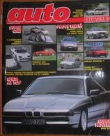 AUTO - N.9 - SETTEMBRE 1989 - ANNO V - ROVER VITESSE 827 - MASERATI 2.24V - FORD SIERRA 2.0 GHIA - NISSAN PATROL - Moteurs