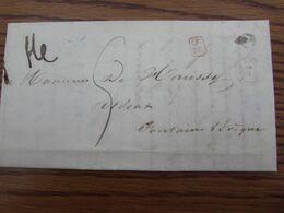 PRECURSEUR De 1841 Avec Cachet RURAL (SR) Et DISTRIBUTION De FAYT (type 18) (frappe Moyenne) - Unclassified