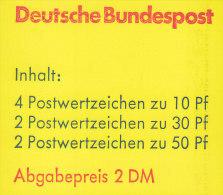 BRD MH 22 I P OZ, Postfrisch ** - BRD