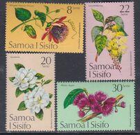 Samoa Mandat  N° 349 / 52 XX  Fleurs : Les 4 Valeurs Sans Charnière, TB - Samoa