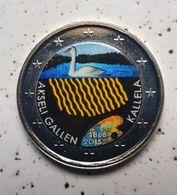 FINLANDE 2015 - AKSELI GALLEN -  2 EUROS COMMEMORATIVE  -  VERSION COULEUR - Finnland