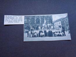 """Origineel Knipsel ( 5467 ) Uit Tijdschrift """" De Stad """"  1937 :   Audenaerde  Audenarde   Oudenaarde - Vecchi Documenti"""
