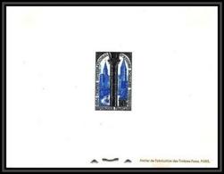 France - N°986 études Romanes Tournus église Ste Philibert (church) épreuve De Luxe (deluxe Proof) - Epreuves De Luxe