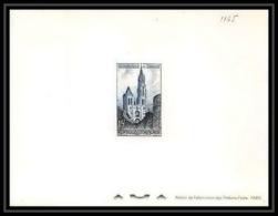 France - N°1165 épreuve De Luxe (deluxe Proof) Cathédrale De Senlis (église Church) - Epreuves De Luxe