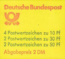BRD MH 22 I Af OZ, Postfrisch ** - BRD