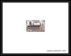 France - N°2002 Abbaye De Fontevraud Anjou (église Church) épreuve De Luxe (deluxe Proof) - Eglises Et Cathédrales