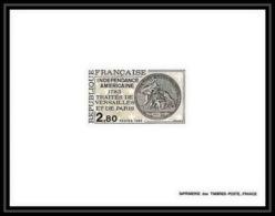 France - N°2285 Indépendance Des Usa 1783 Traités De Versailles Coin Monnaie épreuve De Luxe (deluxe Proof) - Us Independence