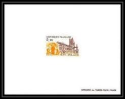 France - N°2350 Montpellier Château Castle épreuve De Luxe (deluxe Proof) - Epreuves De Luxe