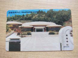 Autelca Phonecard,temple,used - Korea, South
