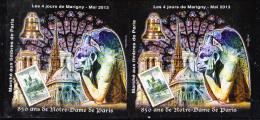 #           Oo  Yvert N° 25 - 4 Jours Marigny 2013 - Notre-Dame De Paris - Neuf**  Luxe  OO - CNEP