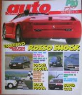 AUTO - N.11 - NOVEMBRE 1989 - ANNO V - FIAT TIPO 16V - FIAT UNO 60S - LOTUS ESPRIT TURBO - VW GOLF GTD - RENAULT 25 TXI - Moteurs