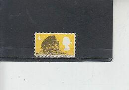 GRAN BRETAGNA  1966 - Unificato 449° - Tecnologia - 1952-.... (Elisabetta II)