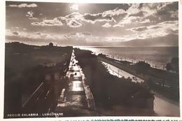 Cartolina - Reggio Calabria - Lungomare - 1953 - Reggio Calabria
