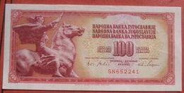 100 Dinara 1965 (WPM 80B) - Jugoslawien