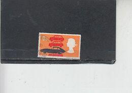 GRAN BRETAGNA  1966 - Unificato 450° - Tecnologia - Auto - 1952-.... (Elisabetta II)