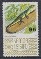 Samoa Mandat  N° 358 XX Série Courante :Lézard Sans Charnière, TB - Samoa