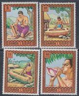 Samoa Mandat  N° 359 / 62 XX Instruments De Musique, Les 4 Valeurs Sans Charnière, TB - Samoa