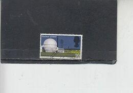 GRAN BRETAGNA  1966 - Unificato 452° - Tecnologia - Nucleare - 1952-.... (Elisabetta II)