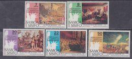 Samoa Mandat  N° 367 / 71 XX Bicentenaire De L'indépendance Des Etats-Unis, Les 5 Valeurs Sans Charnière, TB - Samoa