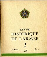 REVUE HISTORIQUE DE L ARMEE  1948     N° 2 - Books