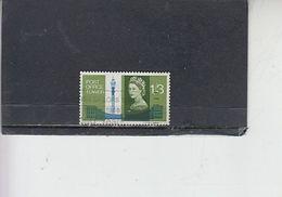 GRAN BRETAGNA  1965 - Unificato 416° - Torre Postale - 1952-.... (Elisabetta II)