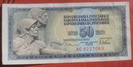 50 Dinara 1978 (WPM 89B) - Jugoslawien