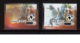 South Africa-2003,(Mi.1513-1514), Football, Soccer, Fussball,calcio,MNH - 2010 – South Africa