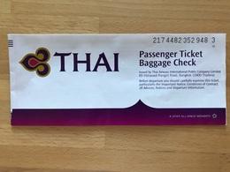 THAI AIRWAYS TICKET 21MAR08 BKK SUVARNABHUMI DUBAI BKK SUVARNABHUMI - Tickets