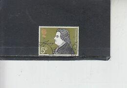 GRAN BRETAGNA  1971 - Unificato  641° - Gray - Gebruikt