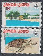 Samoa Mandat  N° 408 / 09 XX Protection Mondiale De La Nature, Les 2 Valeurs Sans Charnière, TB - Samoa