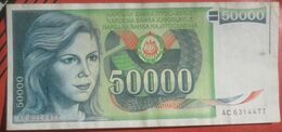 50000 Dinara 1988 (WPM 96) - Jugoslawien