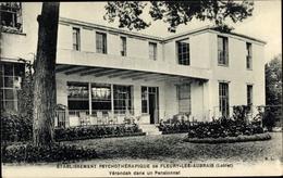 Cp Fleury Les Aubrais Loiret, Etablissement Psychotherapique, Verandah Dans Un Pensionnat - Other Municipalities