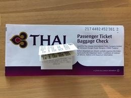 THAI AIRWAYS TICKET 02JAN08 MUNICH BKK SUVARNABHUMI MELBOURNE BKK SUVARNABHUMI MUNICH - Tickets