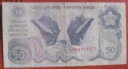 50 Dinara 1990 (WPM 101) - Jugoslawien