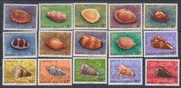 Samoa Mandat  N° 413 / 27 XX Série Courante : Coquillages, Les 15 Valeurs Sans Charnière, TB - Samoa