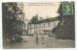 Liancourt (60-Oise) Ecole De L'Ile De France - Le Château De La Rochefoucauld ,vue Sur La Pelouse - Liancourt