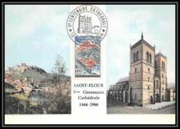 1732/ Carte Maximum (card) France N°1392 Saint-Flour - 1960-69