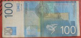100 Sto Dinara 2000 (WPM 156A) Nikola Tesla - Jugoslawien