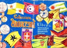 Album Chromo - 051 - Colleccion Universal Libro De Banderas Escudos Monedas Mapas, 40 Pages, 1962, Complet - Woordenboeken