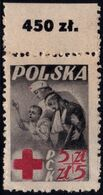 ✔️  Poland Pologne 1947 - Red Cross Croix Rouge - Mi. 471 ** MNH - Ungebraucht