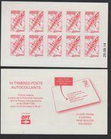 POLYNESIE. CARNET A USAGE COURANT Emblème Postal Rouge CD 25 09 14 Scan Recto Verso - Libretti